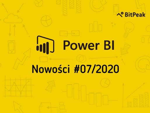 Co nowego w Power BI? Poznaj bliżej lipcową aktualizację