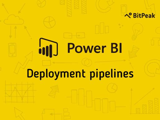 Nowości Power BI: deployment pipelines