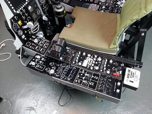 DCS A-10C VR Cockpit Left Consol set