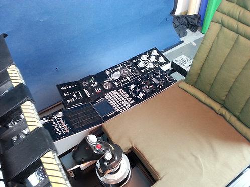 DCS A-10C VR Cockpit Right Consol set