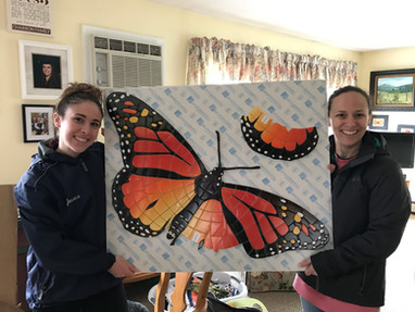 Our beautiful butterfly mosaic