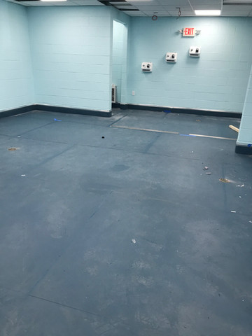 This will be where our changing stall, cubbies, wall mounted hair dryers, mens and womens bathrooms will be
