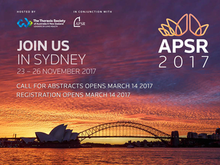 Abstracts close 1st June ASPR, Sydney