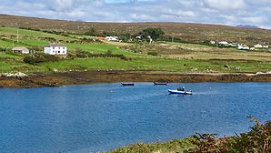Home, Anchorage in Kingstown Bay on the Sky Road, Clifden, Connemara, Galway