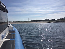 'Bluefin' Arriving at Turbot Island on a beautiful summer day in Connmara, Galway.