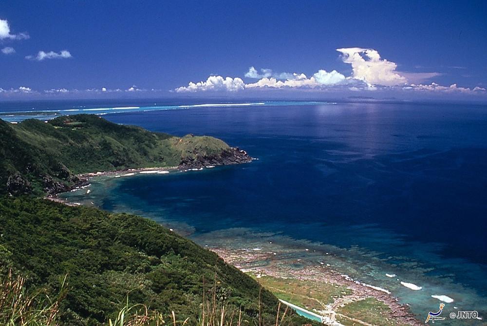Verão em Ishigaki Island em Okinawa, Japão