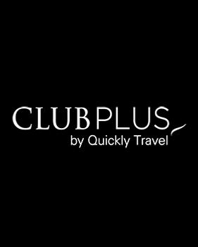 CLUB PLUS by Quickly Travel Logo Branco-