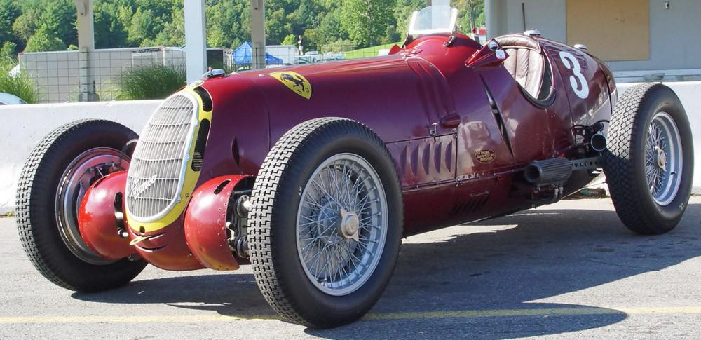 L'Alfa 8C-35 della Scuderia Ferrari