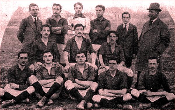 La squadra del Torino della stagione della Tournée Sudamericana, 1914-15