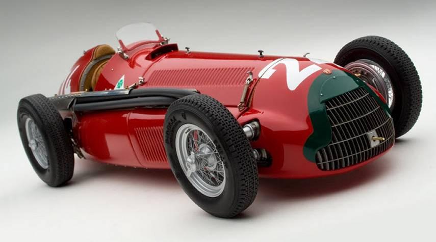 """L'Alfa 158, nota come """"Alfetta"""""""