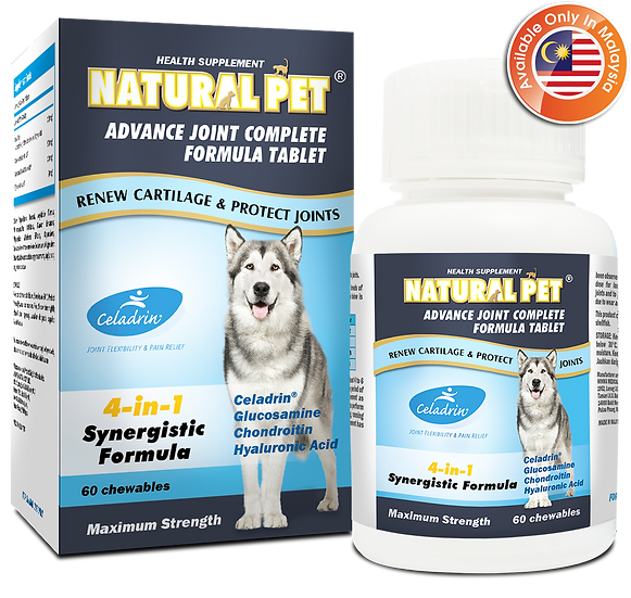 Natural Pet Advance Joint Complete Formula Tablet (MY)