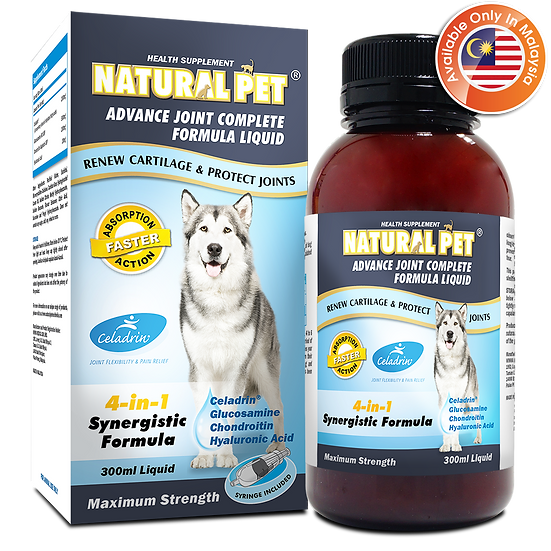 Natural Pet Advance Joint Complete Formula Liquid (MY)