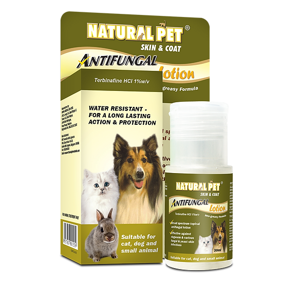Natural Pet Skin & Coat Antifungal Lotion