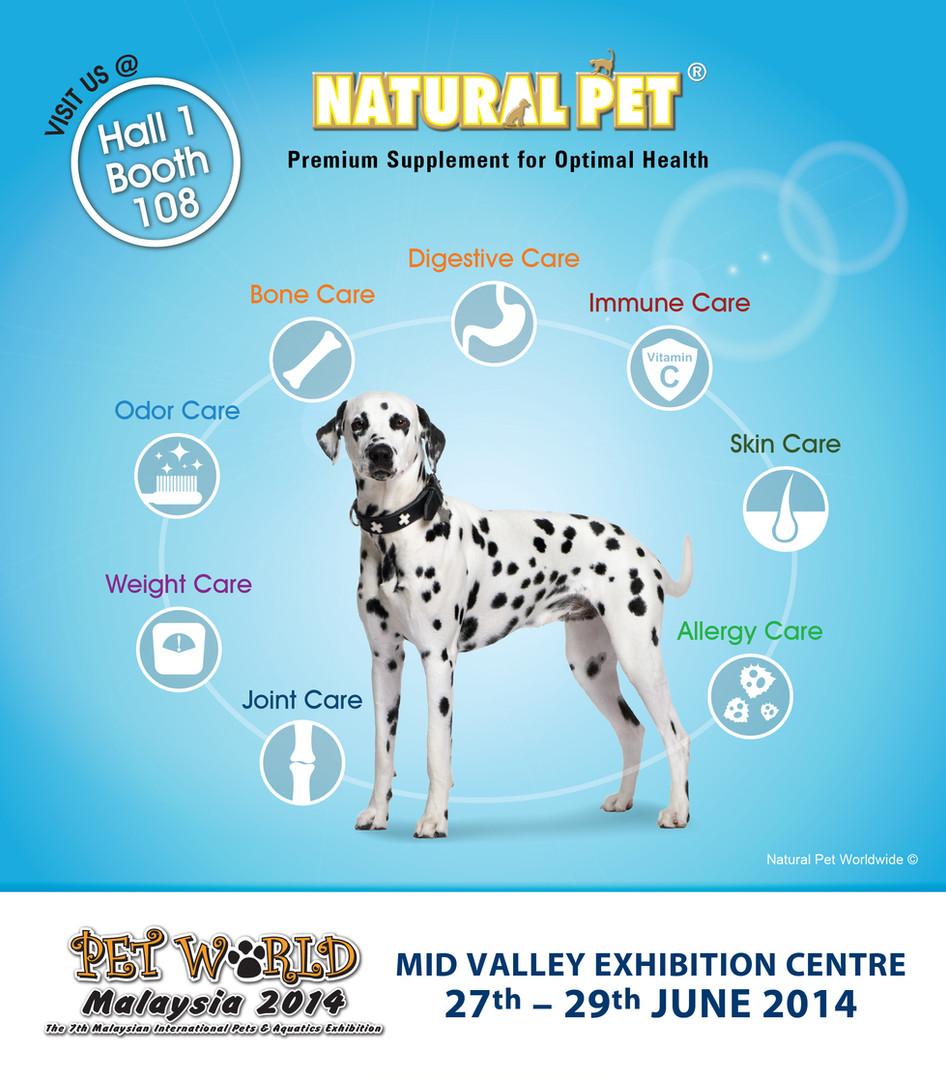 Natural Pet   Pet World Malaysia 2014