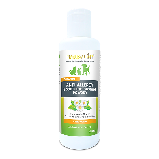 Natural Pet Anti-Allergy & Soothing Dusting Powder