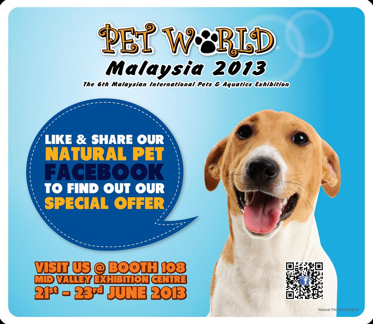Natural Pet   Pet World Malaysia 2013