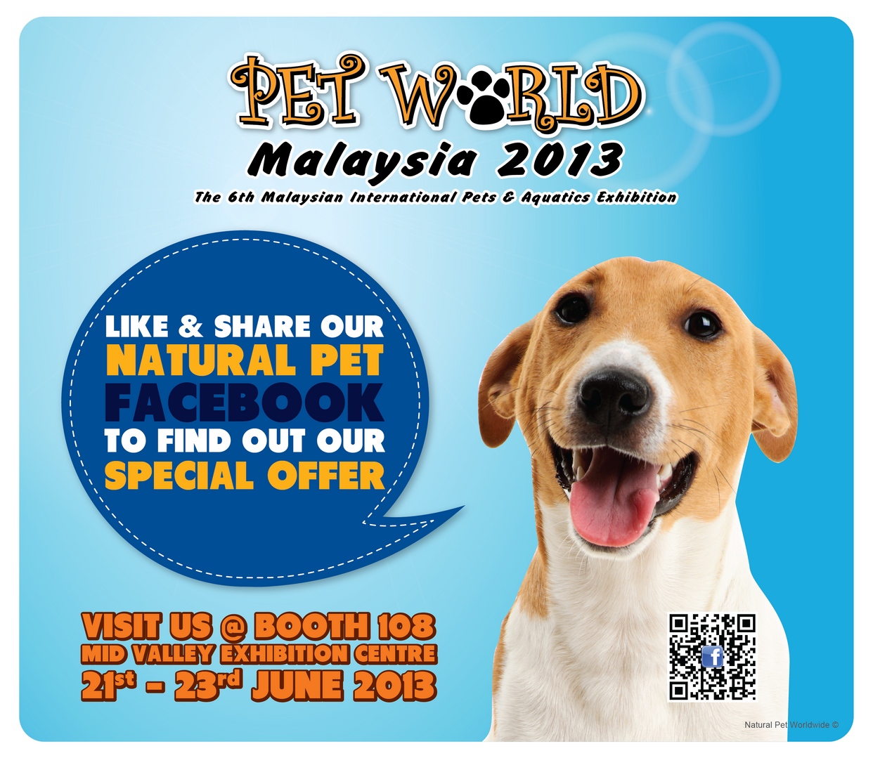 Natural Pet | Pet World Malaysia 2013