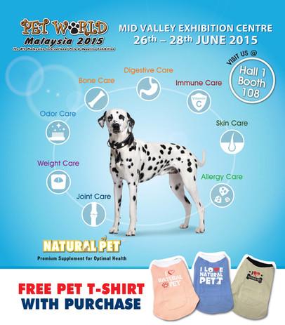Natural Pet | Pet World Malaysia 2015