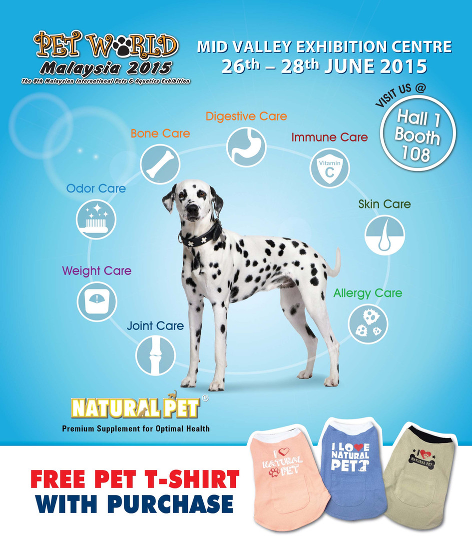 Natural Pet | Pet World Malaysia 2015