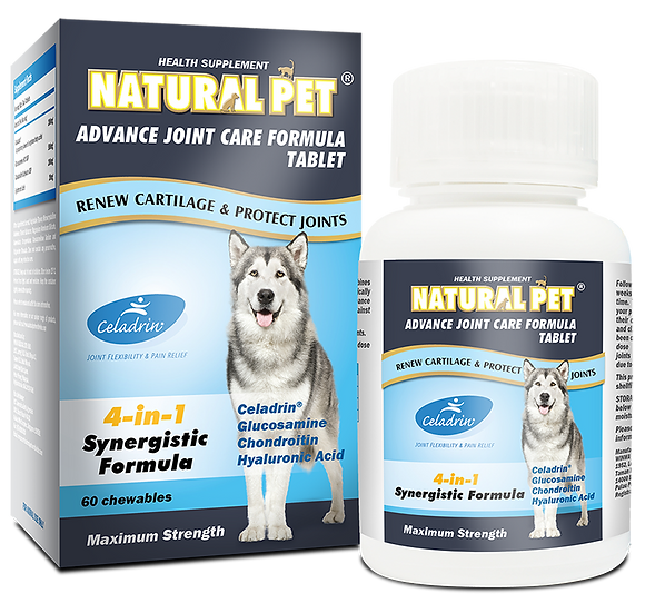 Natural Pet Advance Joint Care Formula Tablet