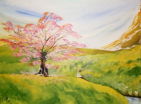 Mein Baum Acryl auf Leinwand/ 60x80cm