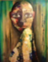 Stark sein Acryl auf Leinwand/ 100x70cm