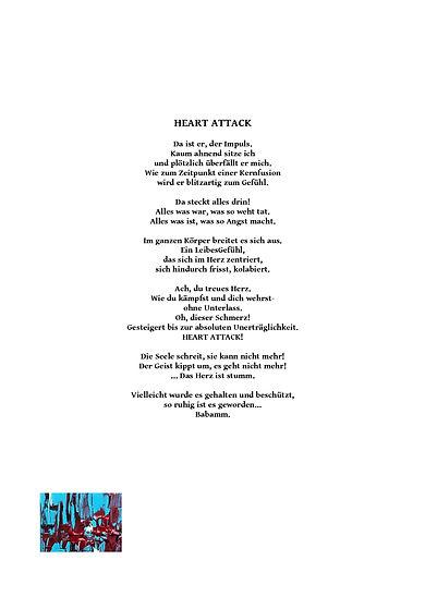 Heart attack Gedicht von Christina Sanna/ PICTURA SERMO