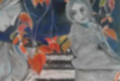 Postkarte Liebe in Marmor