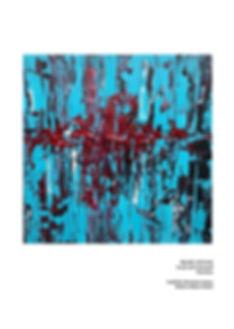Heart attack/ Acryl auf LW/ 50x50cm/ von Klaus Küsel/ PICTURA SERMO