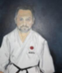 Auftragsarbei Portrait/ Acryl auf LW/ 60x80cm