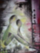 Liebe Acryl auf Leinwand/ 80x60cm