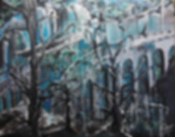 Freude, Traurigkeit und... Acryl auf Leinwand/ 50x60cm