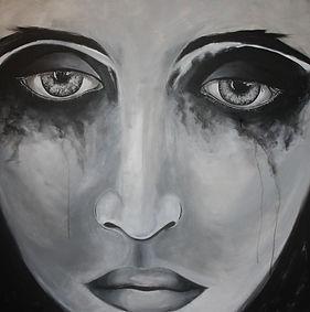 The great sadness Acryl auf Leinwand/ 100x100cm