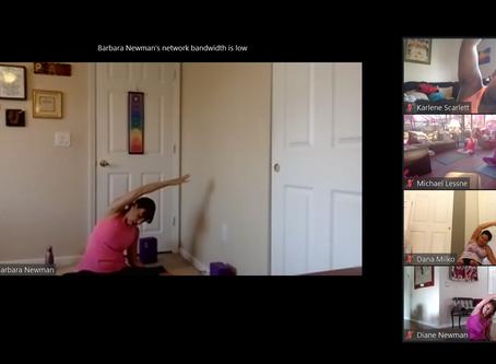 2020 Virtual Yoga and Meditation