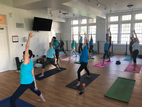 Turquoise Takeover: Breathe Life Force at LUNG FORCE Yoga