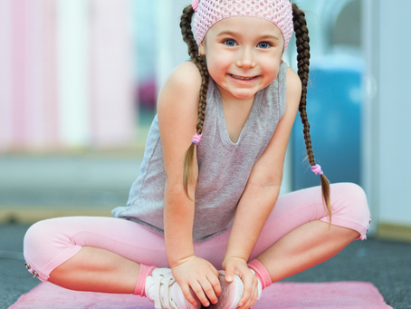 Yoga for Kids, too!