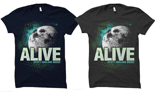 ALIVE MOON T-SHIRT