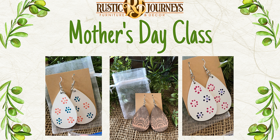 Mother's Day Earring Class