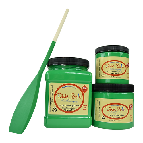 Tree Frog Green Chalk Mineral Paint