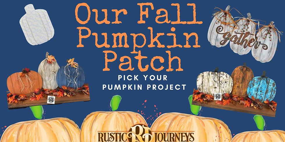 Fall Pumpkin Patch 10/3