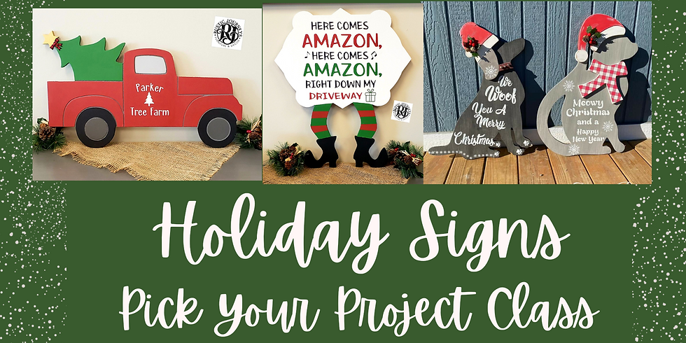 Holiday Signs - Dec6