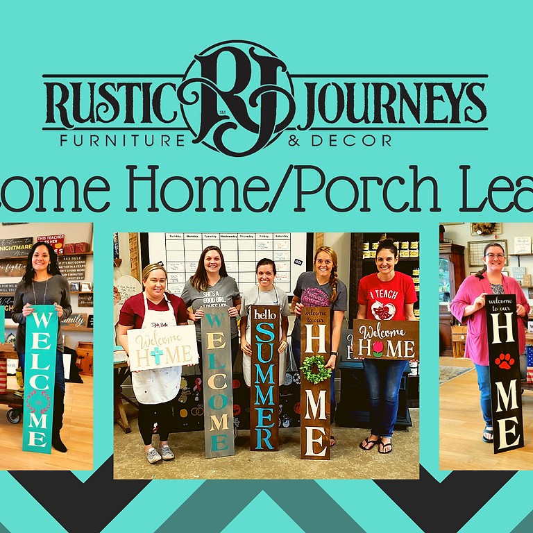 Porch Leaner or Home Interchangeable Sign August 21