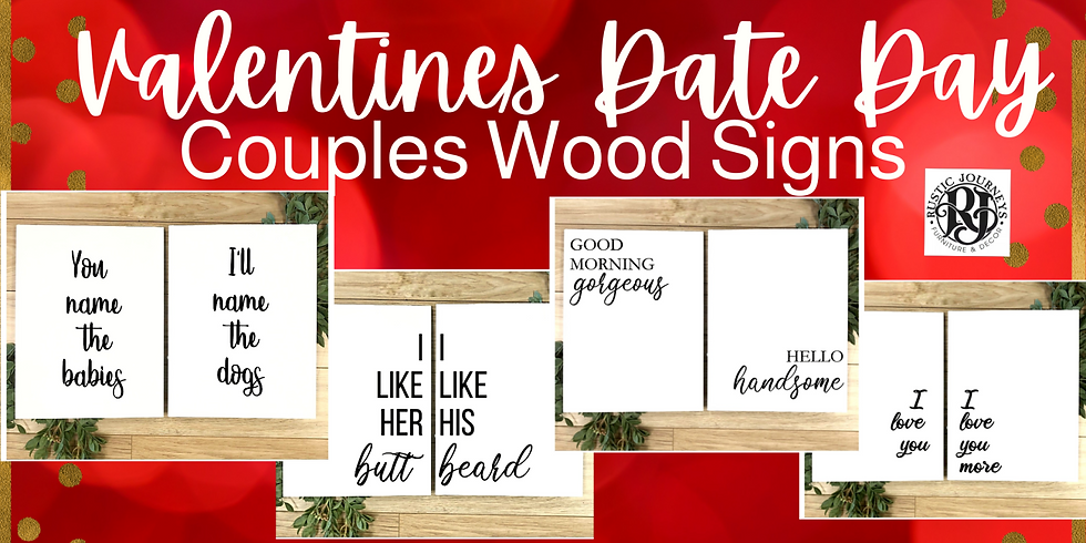 Valentine's Day Date at Rustic Journeys