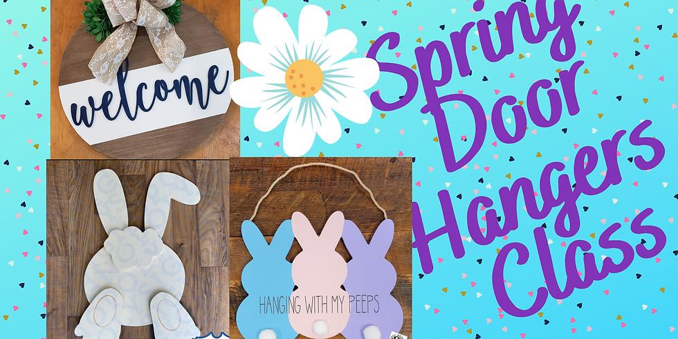 Spring Door Hangers Feb 28