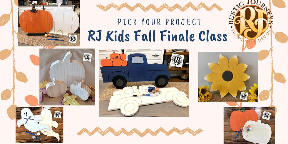 RJ Kids Fall Finale Class