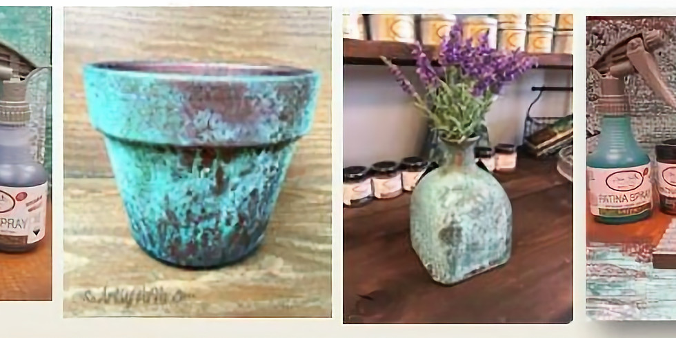 Open Patina Class - March 30