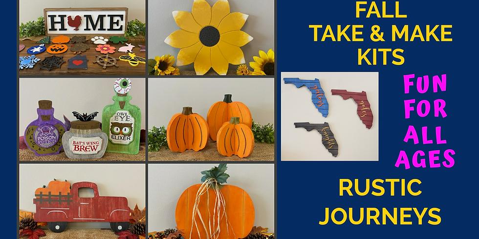 Fall Take & Make Project Kits