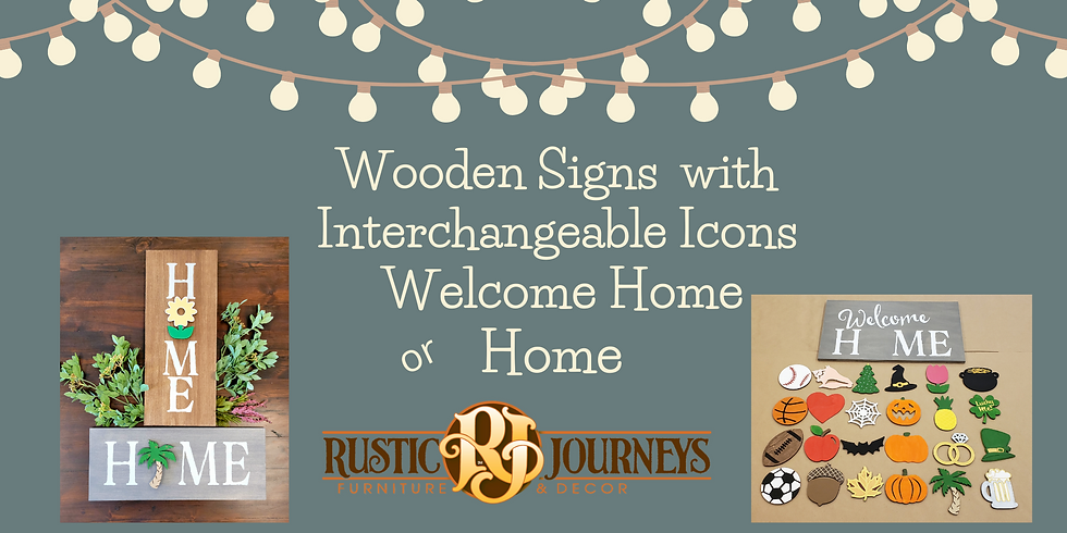 Interchangeable Home Signs 8/8