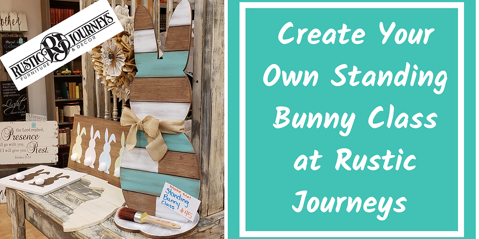 LAST CALL -Standing Wood Bunny - April 17- Wednesday Evening