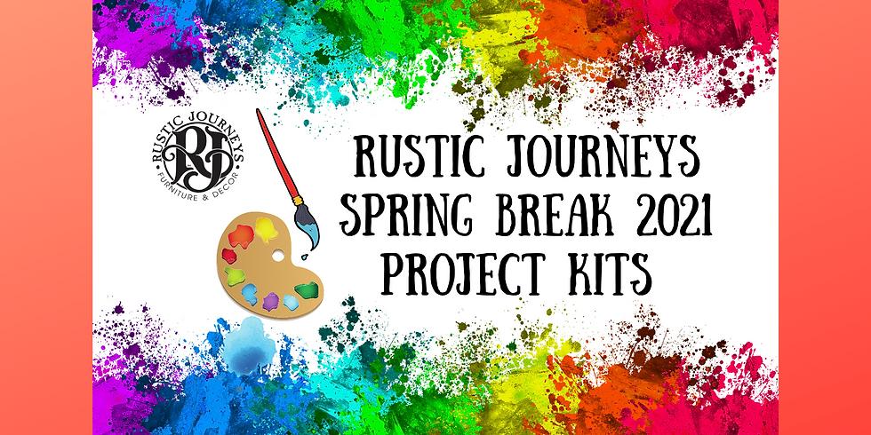 Spring Break Project Kits